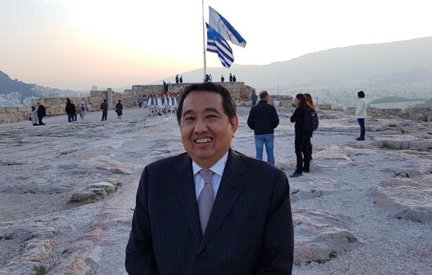 Duta Besar RI untuk Republik Yunani Ferry Adamhar. BISNIS