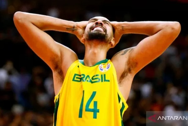 Pemain Brasil, Marquinhos Sousa - Reuters
