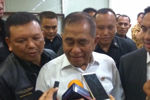 Menteri Pertahanan Ryamizard Ryacudu - Bisnis/Jaffry Prabu Prakoso