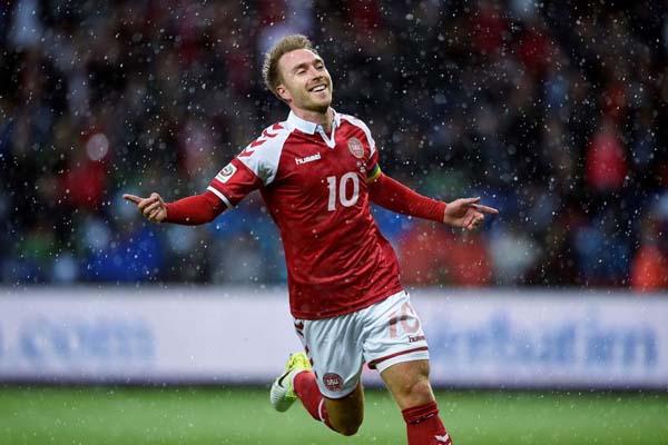 Gelandang serang Timn as Denmark Christian Eriksen. - Reuters
