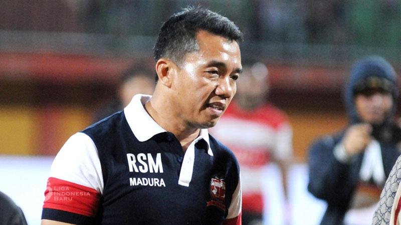 Pelatih Madura United Rasiman - Liga-Indonesia.id
