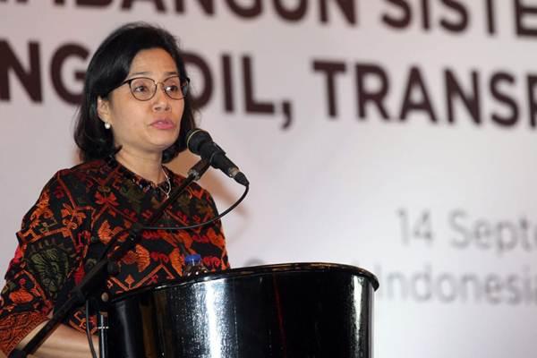Menteri Keuangan Sri Mulyani Indrawati. - JIBI/Dedi Gunawan