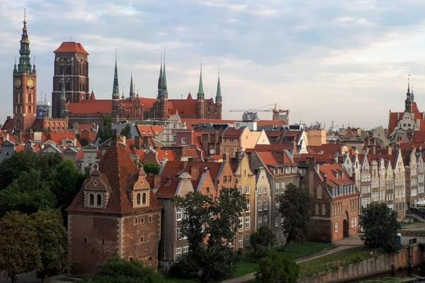 Suasana kota Gdansk Polandia - Bisnis/Rahayuningsih