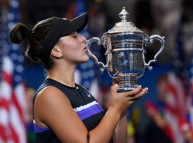 Bianca Andreescu sukses menjuarai turnamen US Open atau AS Terbuka 2019 - Reuters