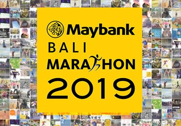 Poster Maybank Bali Marathon 2019 - maybank.co.id