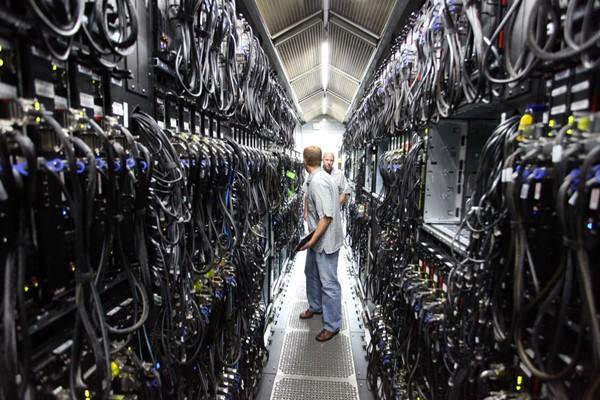 Ilustrasi data center - Flickr
