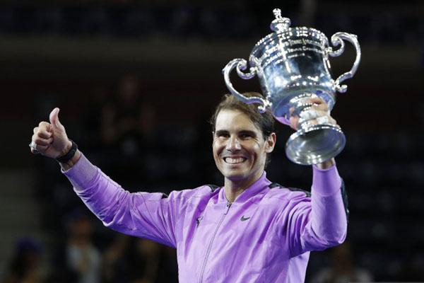 Rafael Nadal juara tenis AS Terbuka 2019. - Reuters