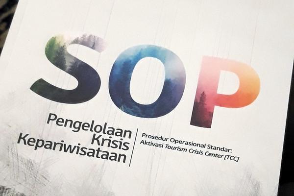 SOP manajemen krisis kepariwisataan dari Kementerian Pariwisata. - Bisnis/Rezha Hadyan