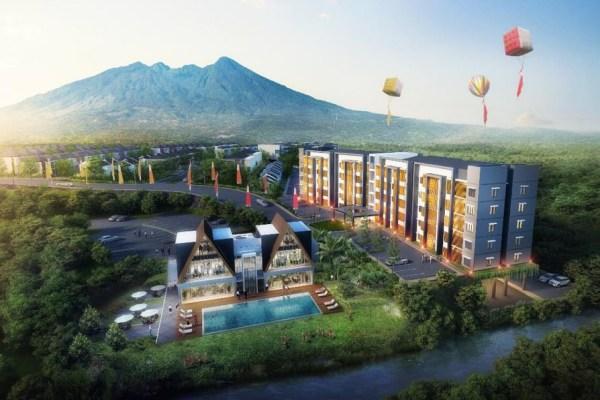 Gambar proyek apartemen Royal Heights berada dalam kawasan pengembangan Royal Tajur seluas 88 hektare. - Bisnis