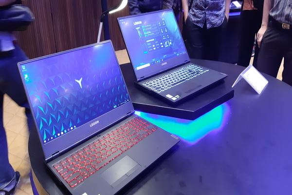 Laptop Lenovo segmen gaming. - Bisnis/Rahmad Fauzan