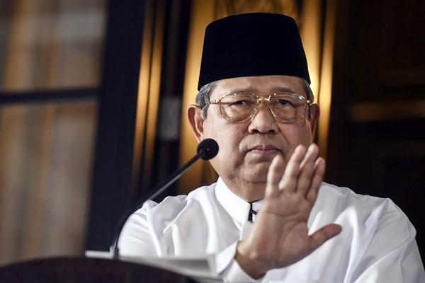 Susilo Bambang Yudhoyono. - Antara/Hafidz Mubarak A.