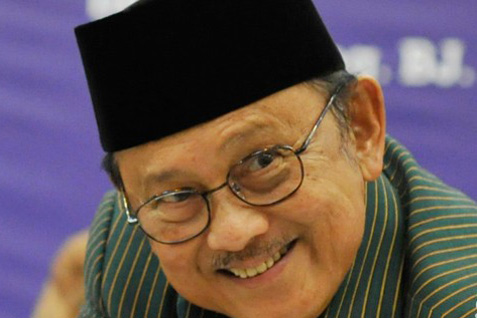 Presiden ke-3 RI Baharuddin Jusuf Habibie - Antara