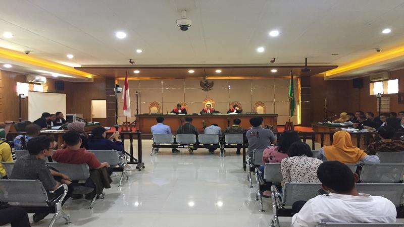Sidang suap proyek Meikarta di Pengadilan Negeri Bandung, Rabu (27/3/2019). JIBI/Bisnis - Dea Andriyawan