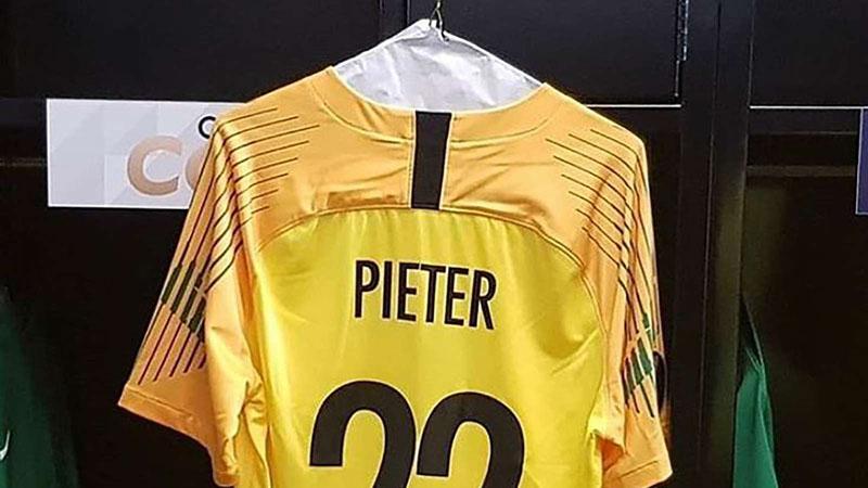 Jersey Jarzinho Pieter tinggal kenangan. - Instagram