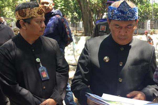 Oded M Danial (kanan) - Bisnis/Dea Andriyawan