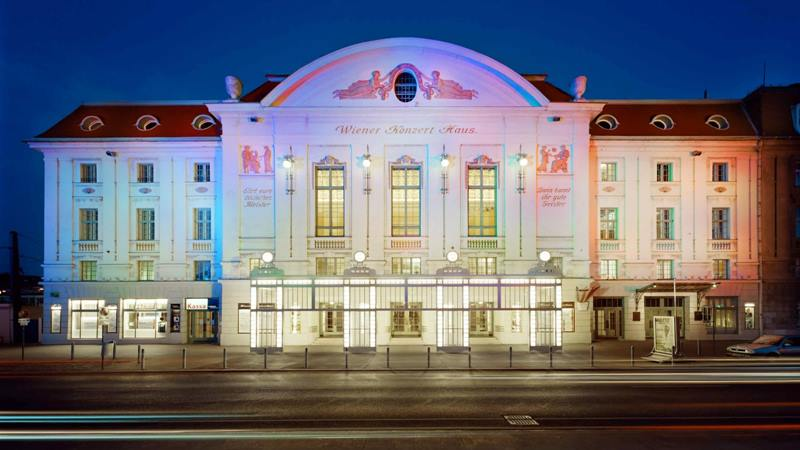 Salah satu gedung konser terbaik di kota Wina, yaitu Mozart Saal di Wiener Konzerthaus, yang berkapasitas sekitar 700 orang. - Istimewa