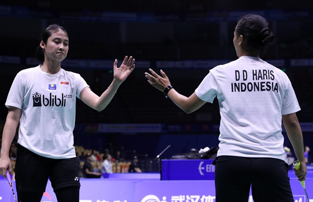Rizki Amelia-Della Destiara - Badminton Indonesia