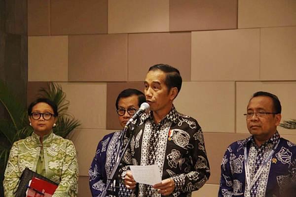 Presiden Joko Widodo (kedua kanan). - JIBI/Ni Putu Eka Wiratmini