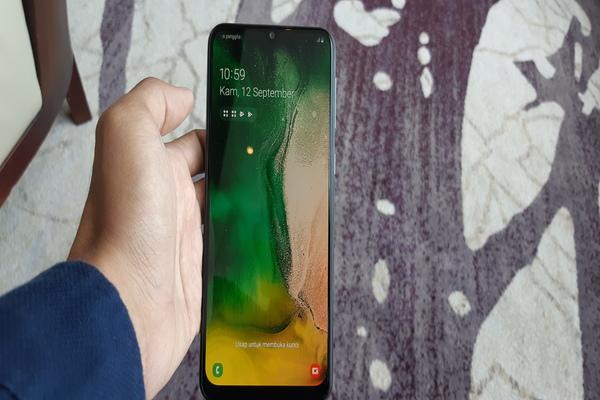 Samsung Galaxy M30 - Bisnis/Rahmad Fauzan