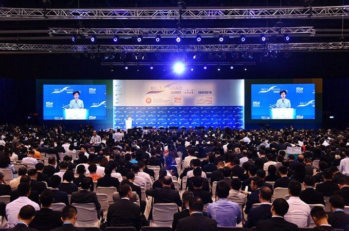 Belt and Road Summit 2019 digelar di Hong Kong. - Istimewa