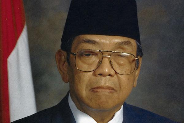 Presiden ke-4 RI KH. Abdurrahman Wahid (Gus Dur) : Nyambung dengan Habibie - Istimewa