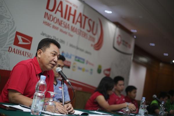 Sekjen PBSI, Achmad Budiharto - Istimewa