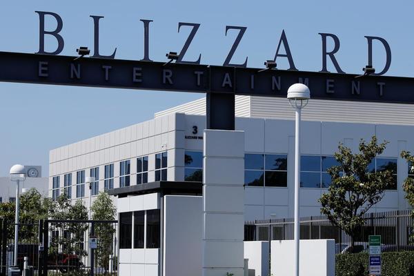 Kantor Blizzard. - Reuters