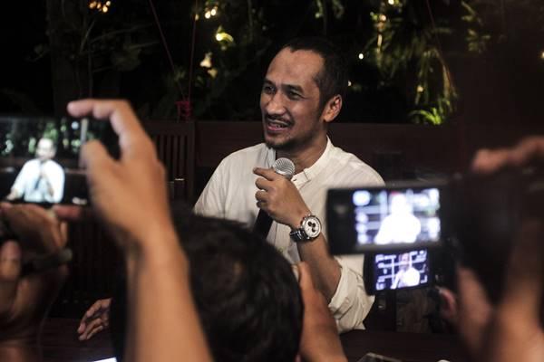 Mantan ketua Komisi Pemberantasan Korupsi (KPK) Abraham Samad. - Antara