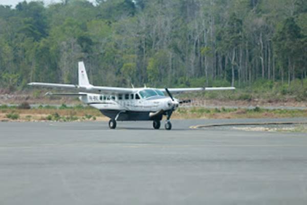 Bandara Maratua di Kepulauan Derawan. - www.humaspemdaberau.com