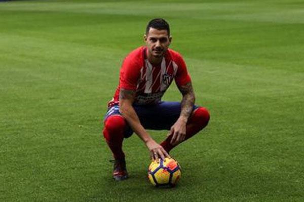 Penyerang Atletico Madrid Victor Machin Perez alias Vitolo - Reuters/Susana Vera