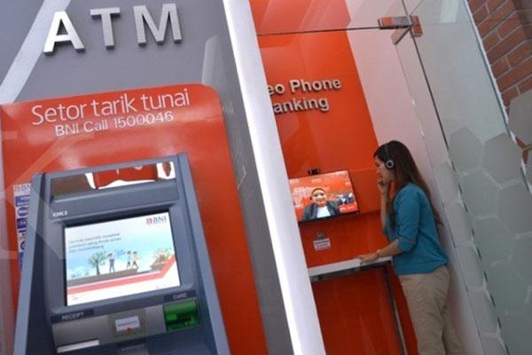 Ilustrasi-ATM Bank BNI - Antara/Adwit B. Pramono