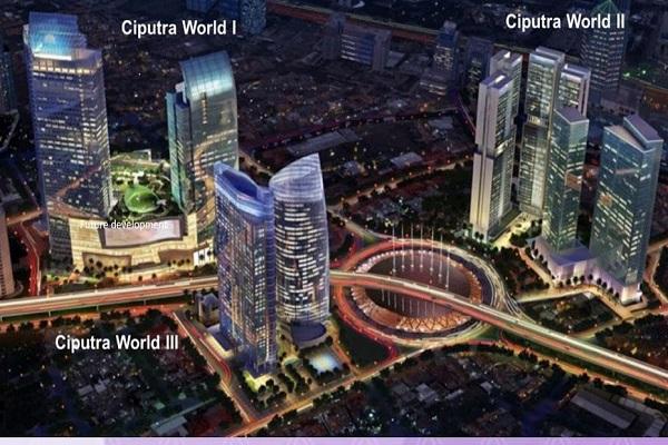 Rencana pengembangan Ciputra World Jakarta oleh Ciputra Group./https:/ - www.newton2ciputra.id