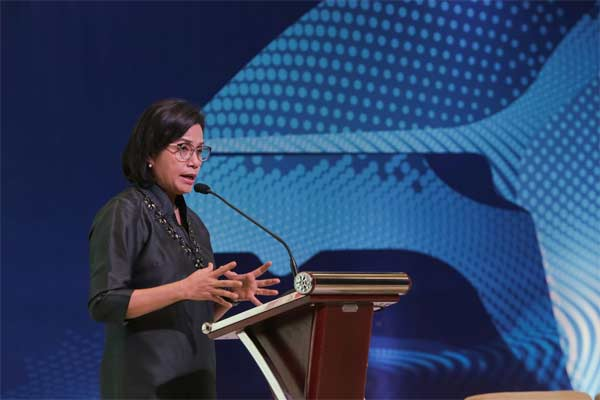 Menteri Keuangan Sri Mulyani - BISNIS.COM/Felix Jody Kinarwan