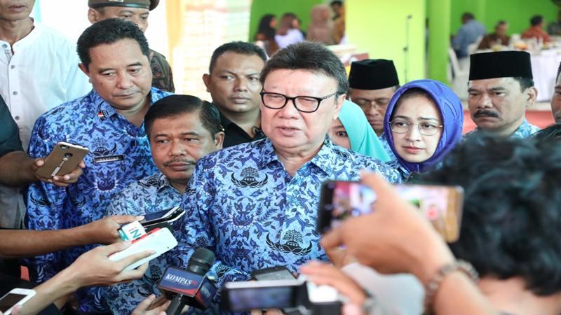 Menteri Dalam Negeri Tjahjo Kumolo. JIBI/Bisnis - Rayful Mudassir
