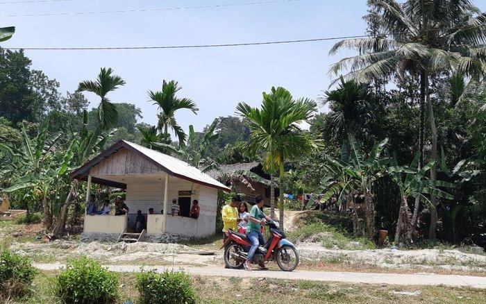 Perumahan warga di Pulau Siberut, Kepulauan Mentawai, Sumatera Barat, Kamis (17/9/2019). - Bisnis/Ni Putu Eka Wiratmini