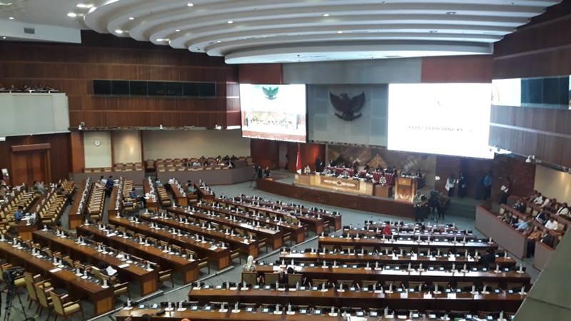Dewan Perwakilan Rakyat (DPR) telah mengesahkan revisi Undang-Undang nomor 30 tahun 2002 tentang Pemberantasan Tindak Pidana Korupsi (KPK) menjadi undang-undang, Selasa (17/9/2019). JIBI/Bisnis - Jaffry Prabu Prakoso