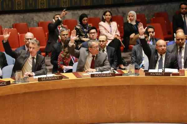 Suasana saat pemungutan suara terkait Resolusi mengenai Afghanistan di Dewan Keamanan PBB, Selasa (17/9/2019) - Dokumentasi PTRI New York