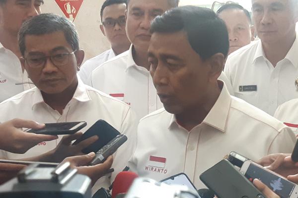 Menteri Koordinator Bidang Politik Hukum dan HAM (Menko Polhukam) Wiranto - Bisnis/Jaffry Prabu Prakoso