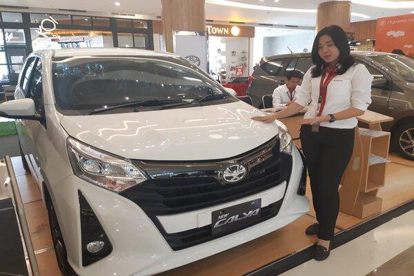 Toyota Calya. - Bisnis/Dinda Wulandari