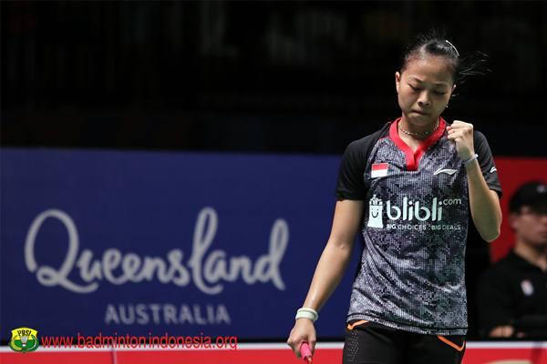 Pemain tunggal putri Indonesia Fitriani - Istimewa