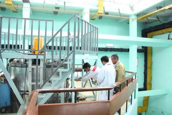 Reaktor Triga 2000 semula menggunakan bahan bakar tipe Triga Mark II buatan General Atomic. - Foto Batan