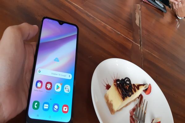 Samsung Galaxy A10s - Bisnis/Rahmad Fauzan