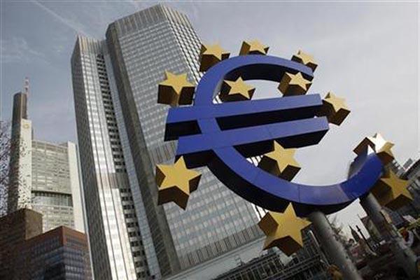 Kanptr pusat Bank Sentral Eropa (ECB) di Frankfurt, Jerman - Reuters/Alex Domanski