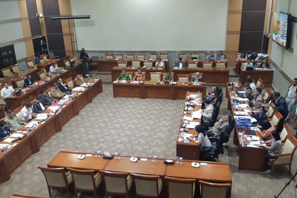 Suasana Rapat Kerja pemerintah dengan DPR membahas RUU KUHP pada Rabu 18 September 2019. - Bisnis/Jaffry Prabu Prakoso
