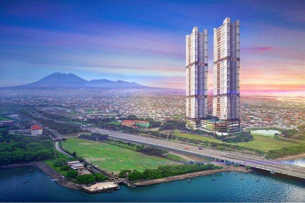 Gambar proyek Grand Sagara yang dikembangkan PT PP Property Suramadu secara bertahap dengan nilai investasi diperkirakan sekitar Rp7 trilun. - Bisnis