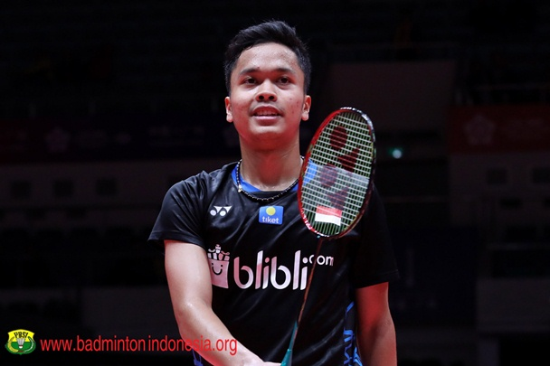 Anthony Sinisuka Ginting - Badminton Indonesia