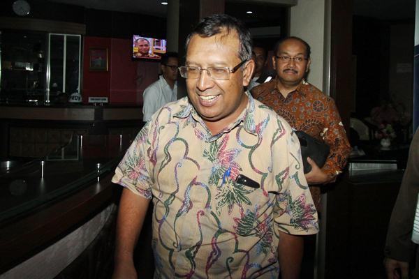 Ahmad Bambang : Diangkat jadi komisaris utama Pelindo III - Antara/Reno Esnir
