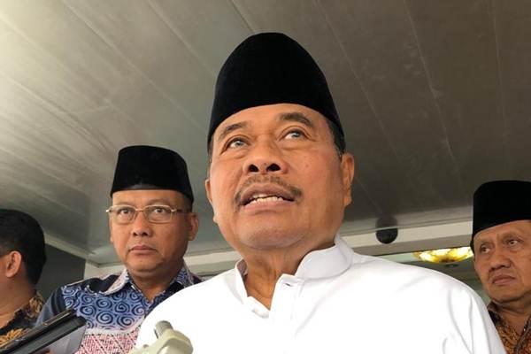 Jaksa Agung H.M. Prasetyo Tanggapi beberapa korporasi negara tetangga jadi tersangka Karhutla - Bisnis/Sholahuddin Al Ayyubi