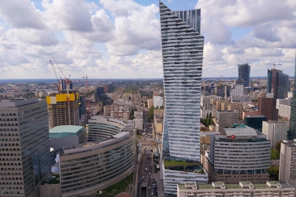 Suasana kota Warsawa, Polandia pada awal September 2019. - Bisnis/Rahayuningsih