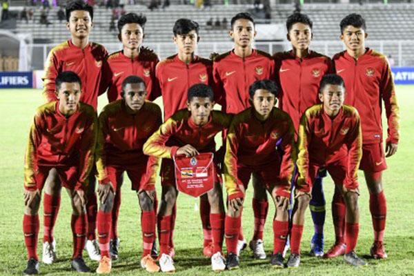 Timnas Indonesia U-16 - Antara/Galih Pradipta